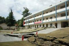 trzęsienie ziemi zdjęcie royalty free