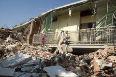 Trzęsienie ziemi obraz stock