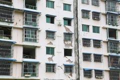 Trzęsienie ziemi dom Obraz Royalty Free