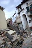 trzęsienie ziemi Italy zdjęcie stock