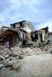 trzęsienie ziemi Italy fotografia stock