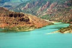 Trzęsienie jezioro Zdjęcie Stock