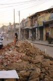 Trzęsienie ziemi Fotografia Royalty Free