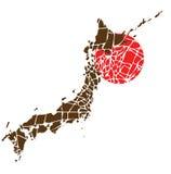 trzęsienie ziemi Japan Zdjęcia Royalty Free