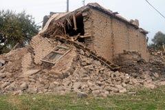 trzęsienie ziemi wioska Zdjęcie Royalty Free