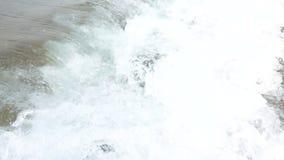 trzasków ciężkiego morza fala Zwolnione tempo 250FPS zbiory wideo