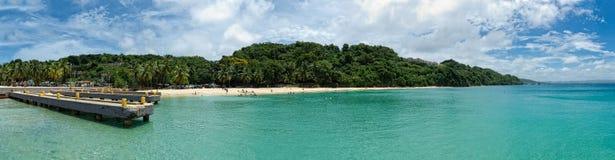 trzask łódkowata panorama Fotografia Royalty Free