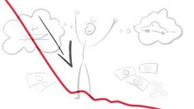 Trzask crypto waluta powoduje mnóstwo łamanych sen zbiory