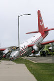 trzaska samolot Fotografia Stock