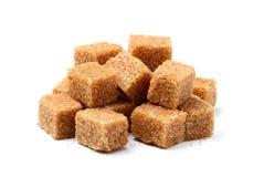 Trzcina cukier w postaci kwadratów Obrazy Stock