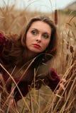 trzciny dziewczyna Fotografia Stock