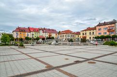Trzebinia Town in Poland. Stock Photos