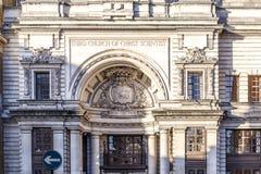 Trzeci kościół Chrystus naukowiec w Mayfair Zdjęcie Royalty Free