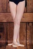 Trzeci pozycja w klasycznym balecie Baletniczy pas Zdjęcie Royalty Free