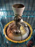 Trzeci sceny Saturn Pięć rakieta Zdjęcia Stock