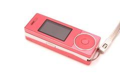 Trzepnięcia różowy telefon komórkowy Fotografia Stock