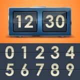 Trzepnięcie zegar Fotografia Stock
