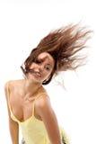 trzepotliwy włosy g - girl. obraz royalty free