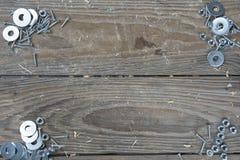 Trzy ścinaka na różowym tle Obraz Stock