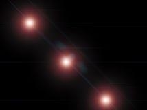 trzy światła Obrazy Stock