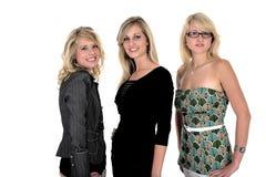 trzy 3 interesu kobieta Zdjęcie Royalty Free