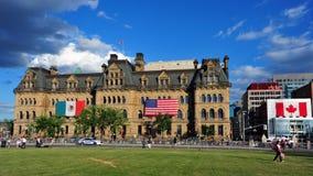 Trzy Amigos szczyt w Ottawa Obraz Royalty Free