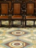 Trzy antykwarskiego krzesła Zdjęcie Royalty Free