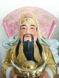Trzy bóg Chiński szczęsliwy szczęście Fu, Hok, Lok i długowieczność Shou, dobrobyt Lu, Siu zdjęcie stock