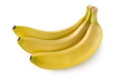 Trzy banana Obrazy Stock