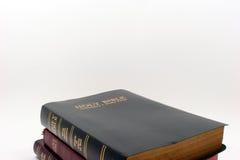 trzy biblii Fotografia Royalty Free