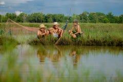 Trzy chłopiec przyjaciela Fotografia Stock