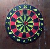 Trzy czerwonej strzałki w centrum cel, lokalna intymna strzałka zdjęcie royalty free