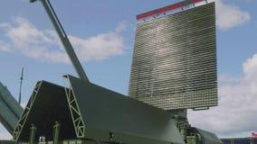 Trzy dane radarowy odbiorca zbiory