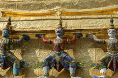 Trzy demonu Yaksha obrazy stock