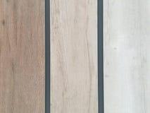 Trzy drewna ścienny deseniowy brzmienie Obraz Royalty Free