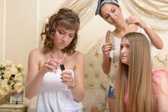 trzy dziewczyny obraz stock