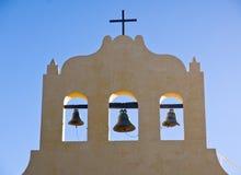 Trzy dzwonu i krzyż zdjęcie stock