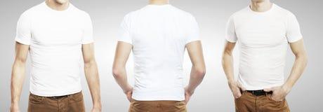 Trzy facet w koszulce zdjęcie royalty free