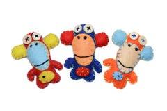 Trzy filc małpy Fotografia Stock