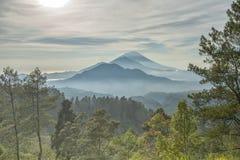 Trzy góra Obrazy Stock