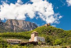 Trzy Grodowy spacer, Południowy Tyrol Obrazy Royalty Free