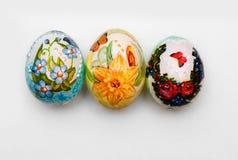 Domowej roboty Easter jajko Fotografia Stock