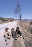 Hmong w południowo-zachodni Chiny Zdjęcie Stock