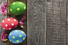 trzy jajka wielkanoc Obraz Royalty Free