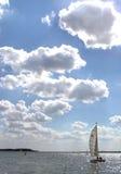 trzy konkursie wiatr Zdjęcia Stock