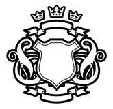 trzy korony Obraz Royalty Free