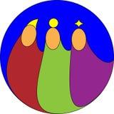 trzy króla Zdjęcie Royalty Free