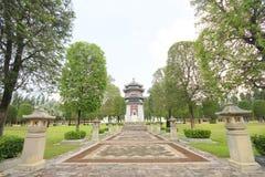 Trzy królestwa Parkują, Pattaya Tajlandia zdjęcie royalty free