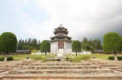 Trzy królestwa Parkują, Pattaya Tajlandia obrazy stock