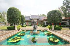 Trzy królestwa Parkują, Pattaya Tajlandia fotografia stock